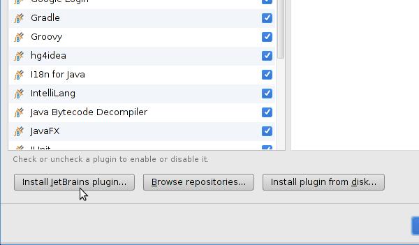 Install JetBrains plugin