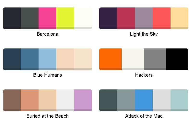 نرم افزاری برای انتخاب رنگ مناسب برای طرحهای شما