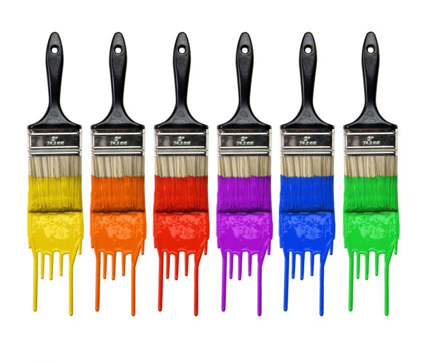 روانشناسي رنگها در طراحي سایت