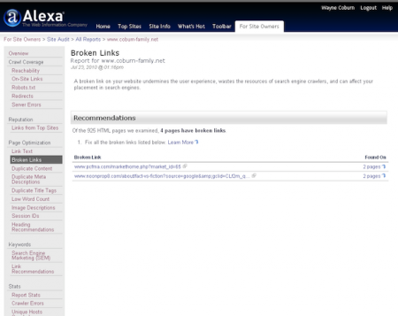 سایت Alexa سرویس رتبه دهی به سایت