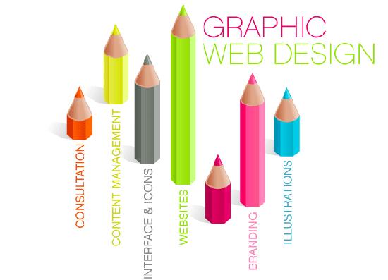 طراحی گرافیکی وبسایت